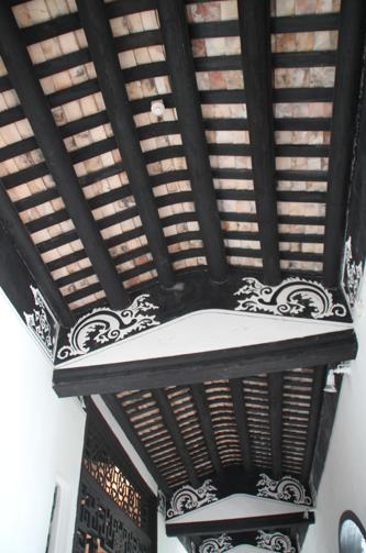 Detalle de la casa del mandarín